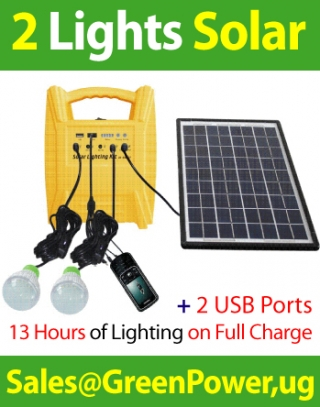 2-Lights (Heavy Duty) Solar System