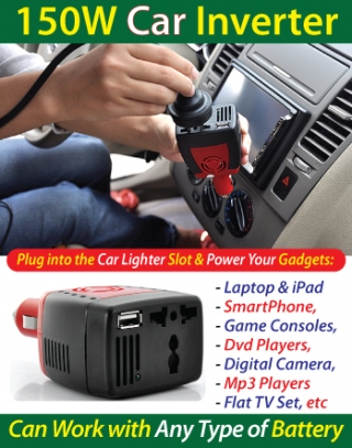 Car Inverter (150Watts)