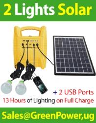 2-Lights (Heavy Duty) Solar System